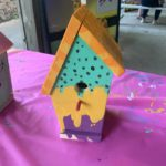 Painting a Birdhouse at Dickerson Park Zoo!!  6-8