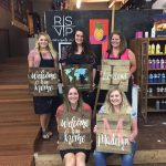 10/16 Walk In Wednesday Canvas & DIY Home Decor Workshop 5-9