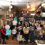 Home Decor DIY Joplin Event Featuring Scrabble Tiles