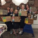 8/5 Home Decor DIY Wood Sign, Ladders, Centerpiece boxes Event SGF (2-4)