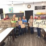 3/4 Walk in Wednesday Canvas & DIY Home Decor Workshop 5-9